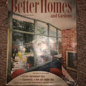 Better Homes & Gardens 1956 Magazine